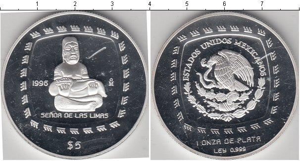 Каталог монет - Мексика 5 песо