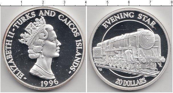 Каталог монет - Теркc и Кайкос 20 долларов