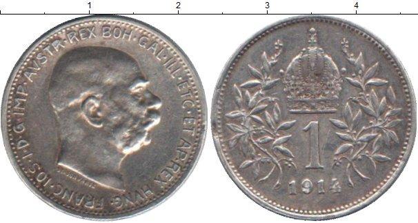 Каталог монет - Австрия 1 крона