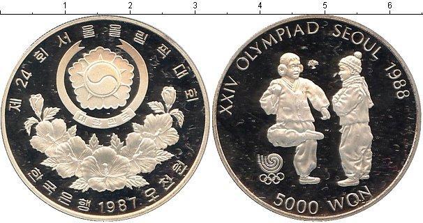 Каталог монет - Южная Корея 5000 вон