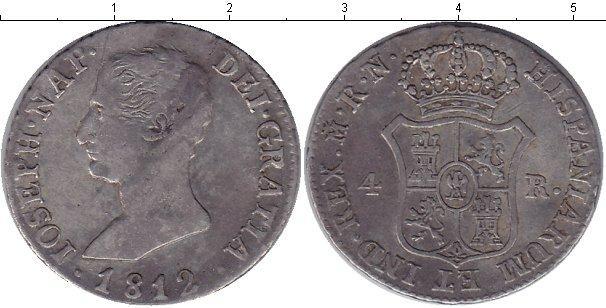 Каталог монет - Испания 4 реала