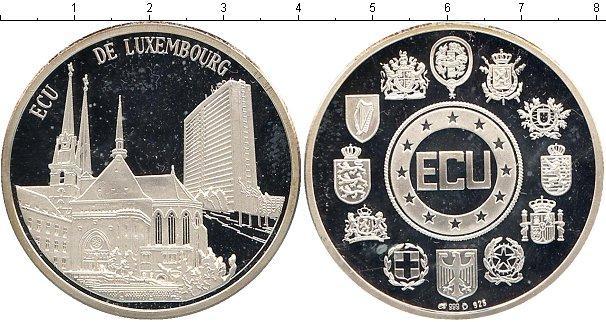 Каталог монет - Люксембург 1 экю