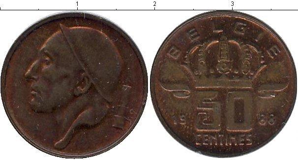 Каталог монет - Бельгия 50 сентим