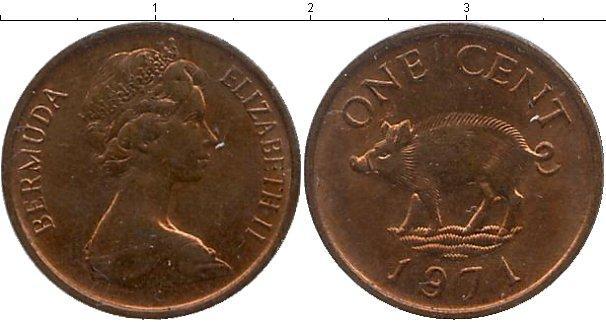 Каталог монет - Бермудские острова 1 пенни