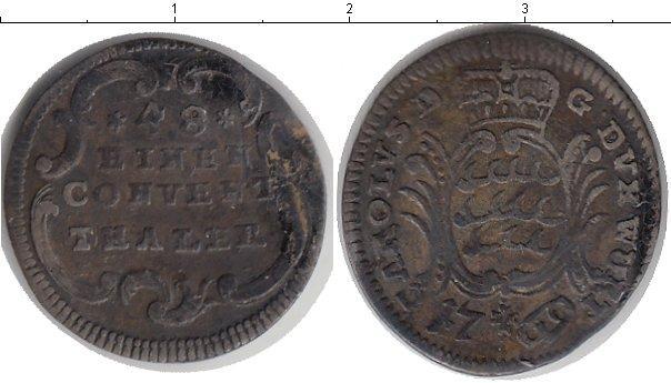 Каталог монет - Вюртемберг 1/48 талера