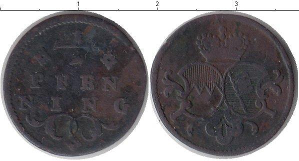 Каталог монет - Вюрцбург 1/2 пфеннига