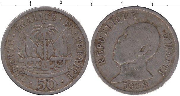 Каталог монет - Гаити 50 сантим