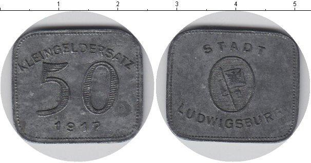 Каталог монет - Германия 50 пфеннигов
