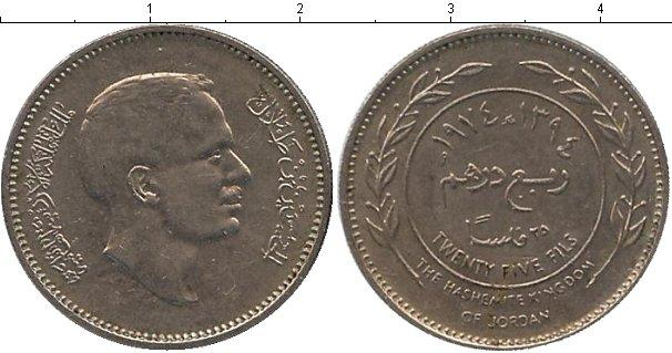 Каталог монет - Иордания 25 филс