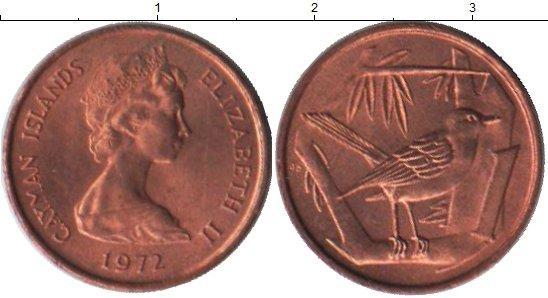 Каталог монет - Каймановы острова 1 цент