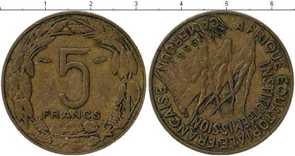 Каталог монет - Камерун 5 франков