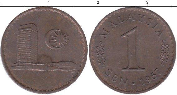 Каталог монет - Малайзия 1 сен