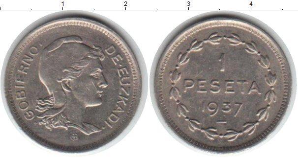 Каталог монет - Испания 1 песета