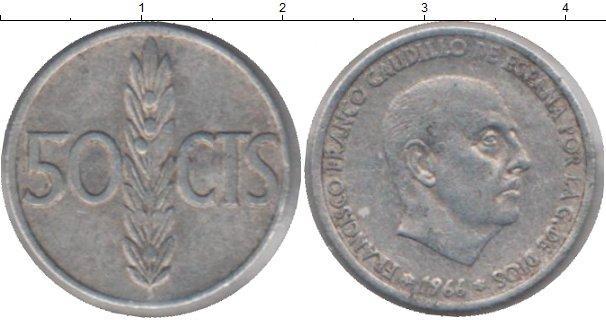 Каталог монет - Испания 50 песет