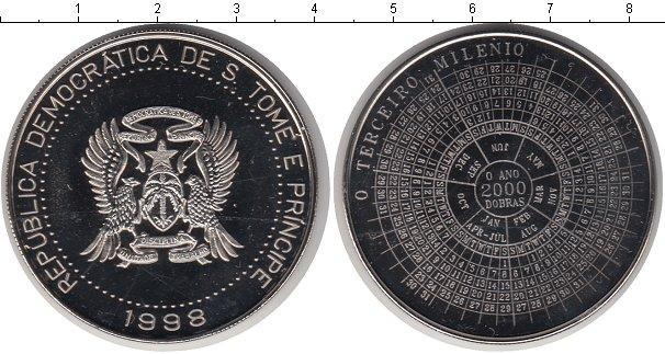Каталог монет - Сан-Томе и Принсипи 2000 добрас