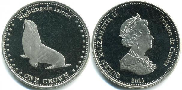 Каталог монет - Соловьиные острова 1 крона