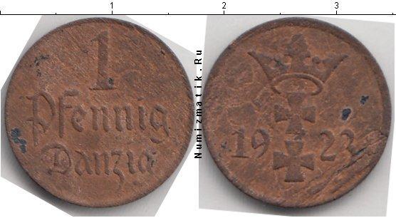 Каталог монет - Данциг 1 пфенниг