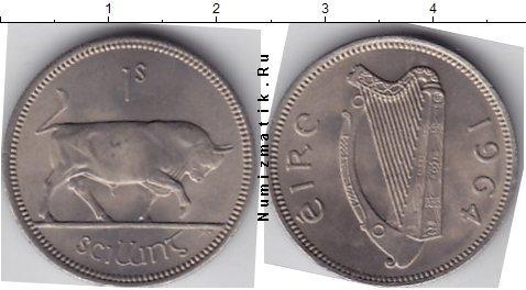 Каталог монет - Ирландия 1 шиллинг