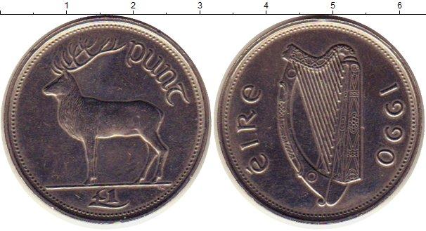 Каталог монет - Ирландия 1 фунт