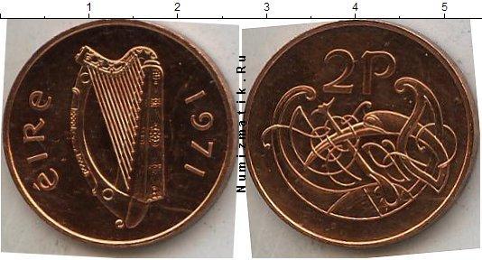 Каталог монет - Ирландия 2 пенса