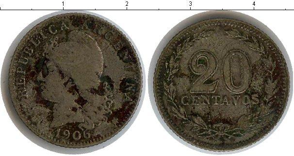Каталог монет - Аргентина 20 сентаво