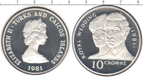 Каталог монет - Теркc и Кайкос 10 крон