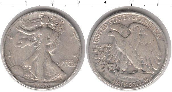 Каталог монет - США 50 центов