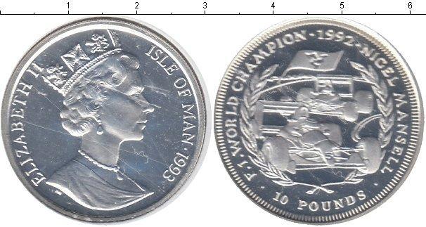 Каталог монет - Остров Мэн 10 фунтов