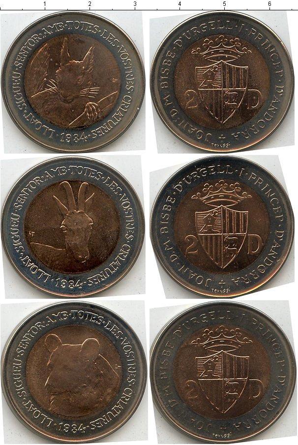 Каталог монет - Андорра Сохранение животного мира