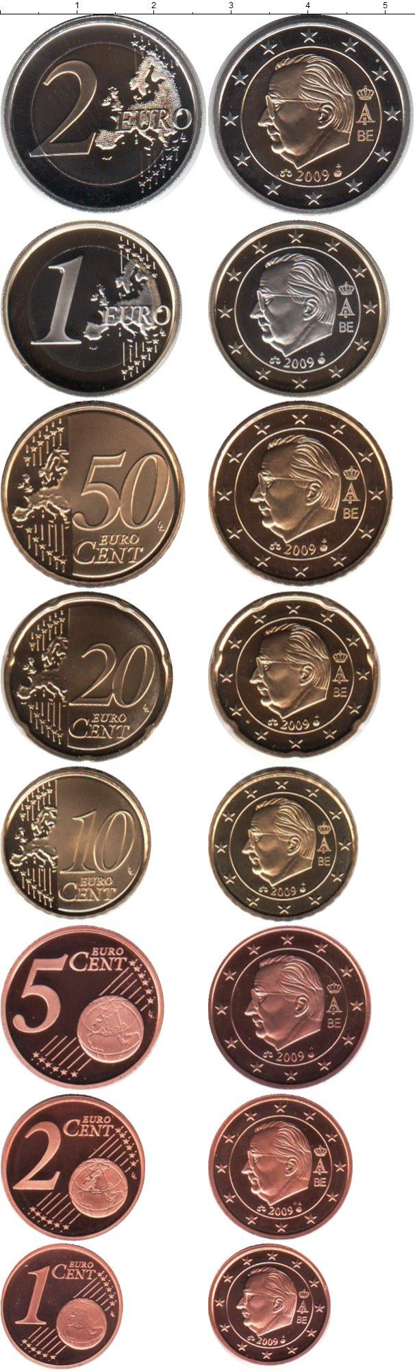 Каталог монет - Бельгия Евронабор 2009 года