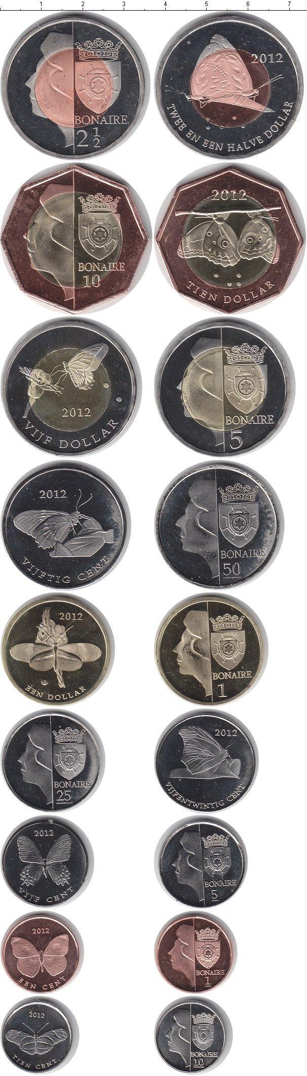 Каталог монет - Бонайре Бонайре 2012