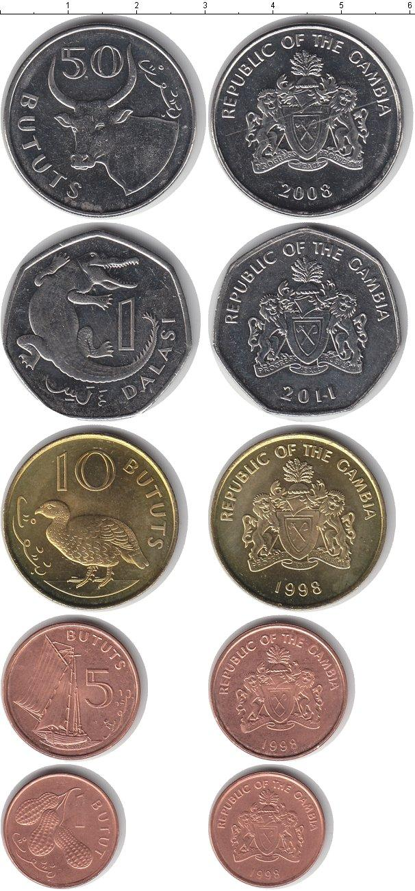 Каталог монет - Гамбия Гамбия 1998