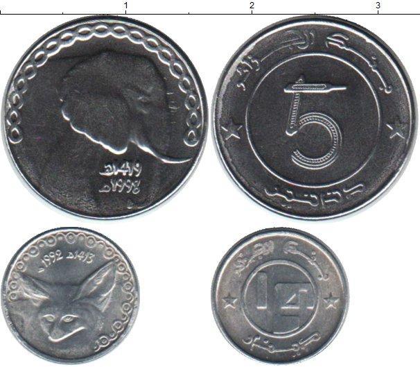 Каталог монет - Алжир Алжир 1992-1998