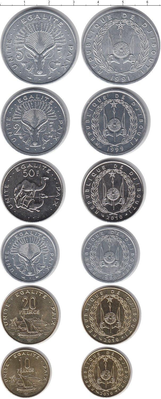 Каталог монет - Джибути Джибути 1991-2010