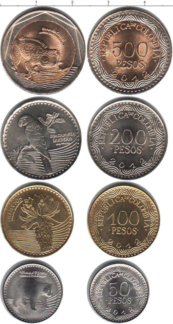Каталог монет - Колумбия Колумбия 2012