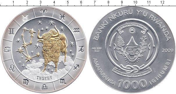 Каталог монет - Руанда 1000 франков