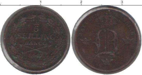 Каталог монет - Швеция 1/6 скиллинга