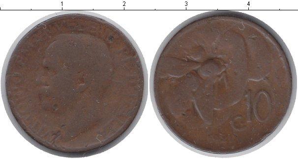 Каталог монет - Италия 10 сентесим