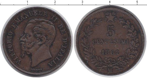 Каталог монет - Италия 5 сентесим