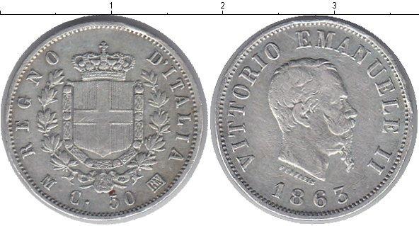 Каталог монет - Италия 50 сентесим