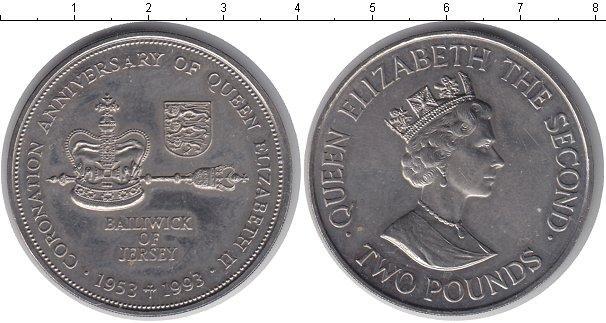 Каталог монет - Остров Джерси 2 фунта