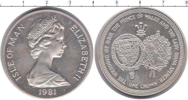 Каталог монет - Остров Мэн 1 крона