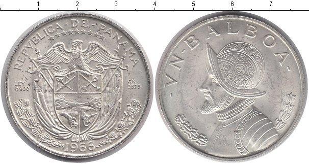 Каталог монет - Панама 1 бальбоа