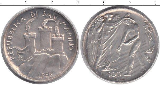 Каталог монет - Сан-Марино 500 лир