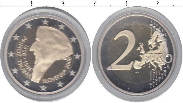 Каталог монет - Словения 2 евро