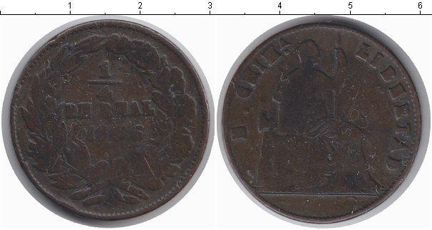 Каталог монет - Чили 1/4 реала