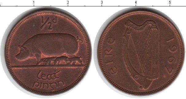 Каталог монет - Ирландия 1/2 пенни