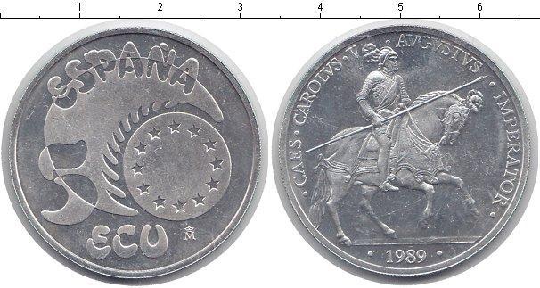 Каталог монет - Испания 50 экю
