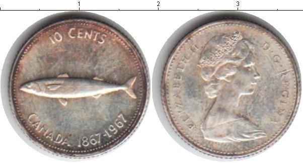 Каталог монет - Канада 10 центов