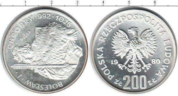 Каталог монет - Польша 200 злотых